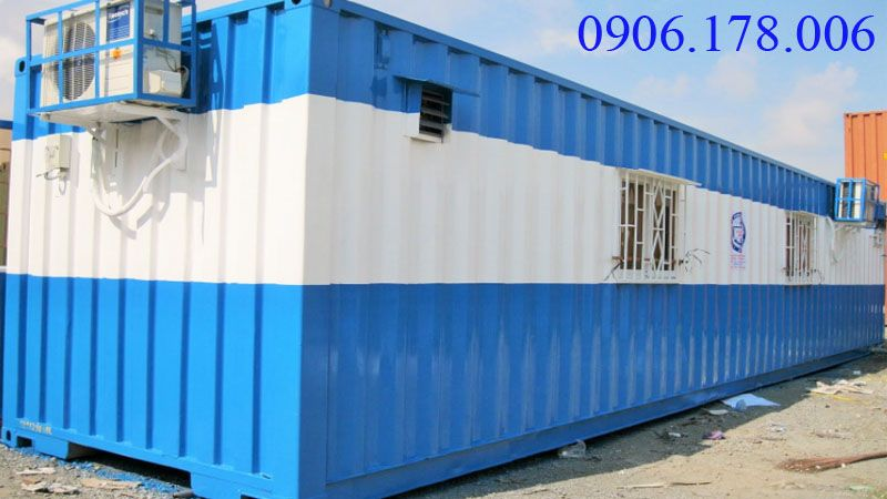 Cấu tạo container văn phòng 40 feet