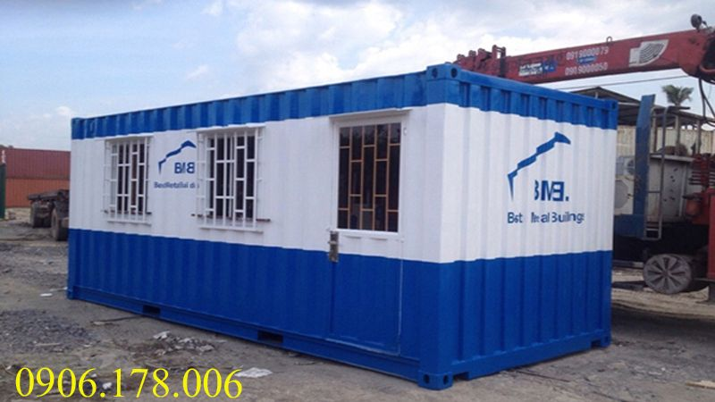 Gía container văn phòng 20 feet