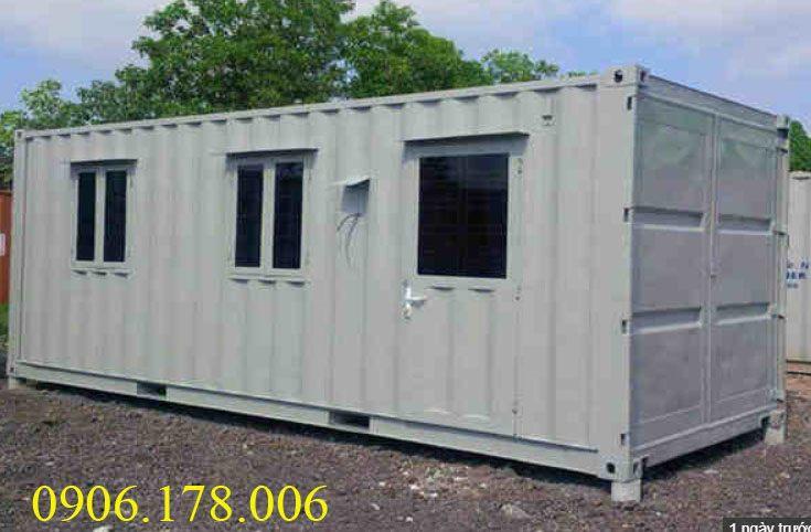 Gía container văn phòng 20 feet tại bắc ninh