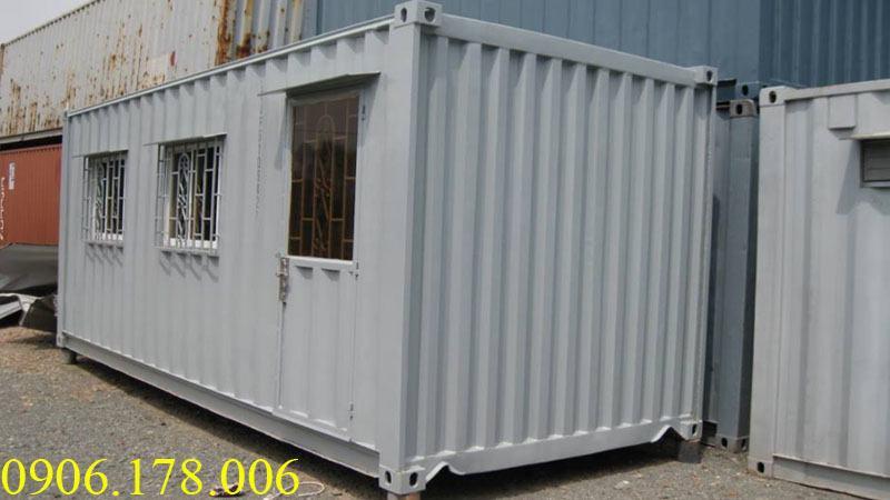Gía container văn phòng 20 feet tại hải dương