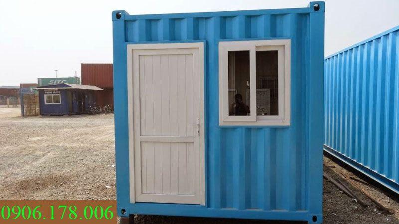 Gía container văn phòng 20 feet tại hưng yên
