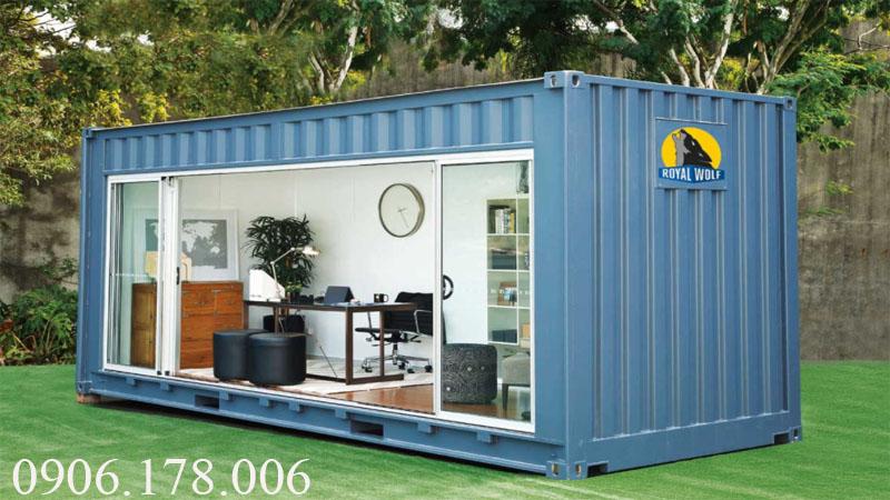 Gía container văn phòng 20 feet tại quảng ninh