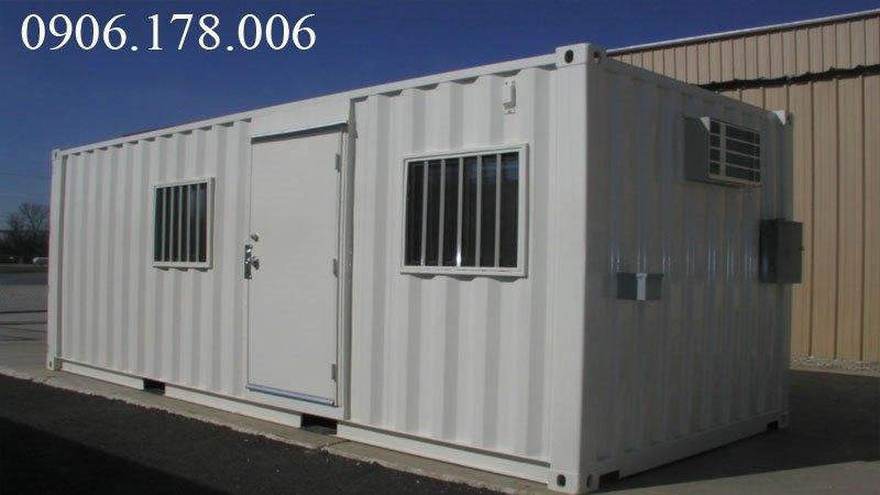 Gía container văn phòng 20 feet tại thái bình