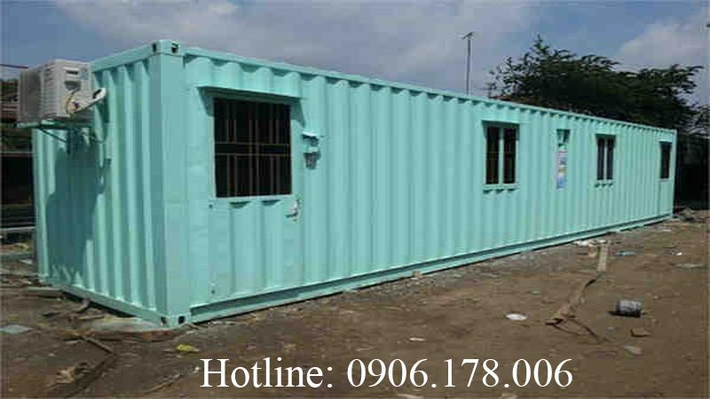 Gía bán container văn phòng
