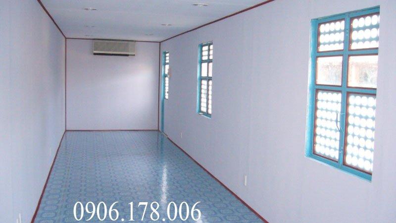 Gía container văn phòng 40 feet tại hà nội