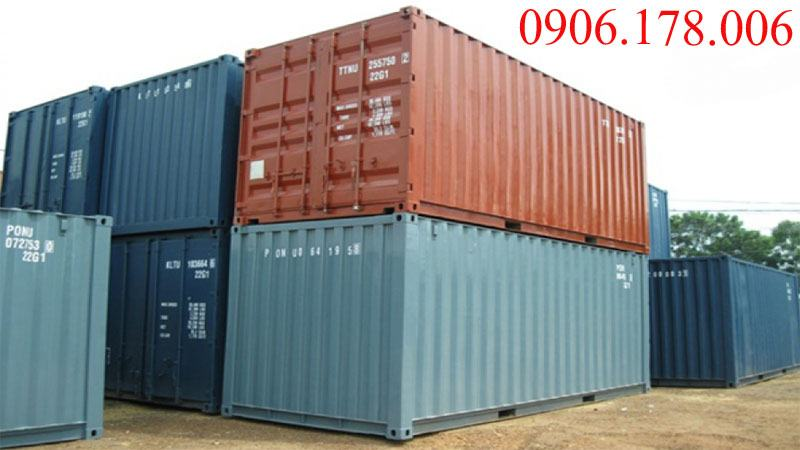 Bán container 20 feet cũ