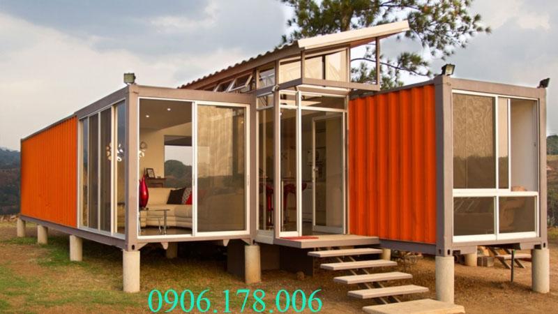 Nhà bằng container đẹp