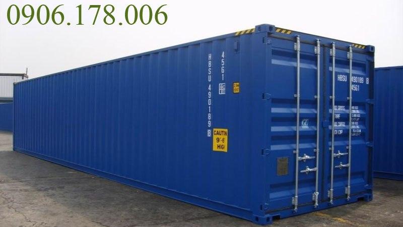 giá container 40 feet cũ rẻ giá thấp nhưng chất lượng không thua kém gì container mới