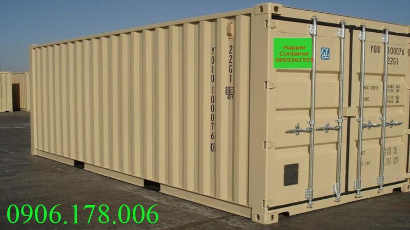 Gía container cũ thấp thấp do kếm chất lượng