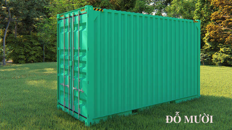 kích thước container 20 feet là bao nhiêu