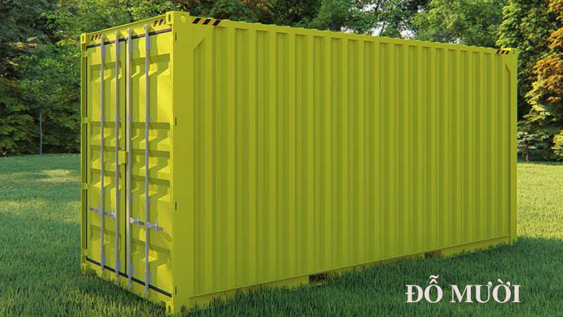 kích thước container 20 feet ra sao