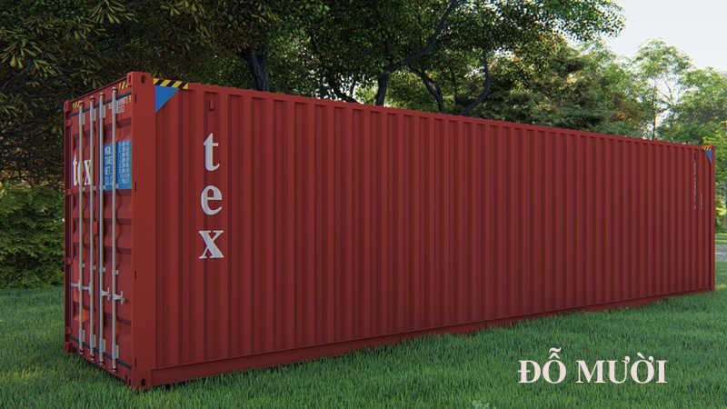 kích thước container 40