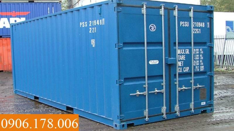 Bán container cũ giá rẻ tại TPHCM
