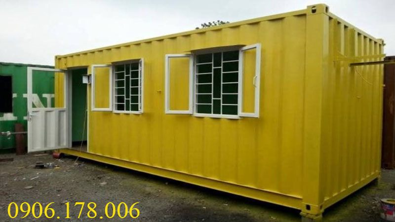 Bán container văn phòng giá rẻ tại Thái Bình