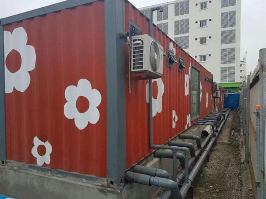 Mua bán container giá rẻ tại Thái Bình