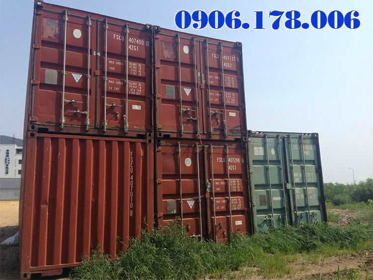 giá container 20 feet cũ