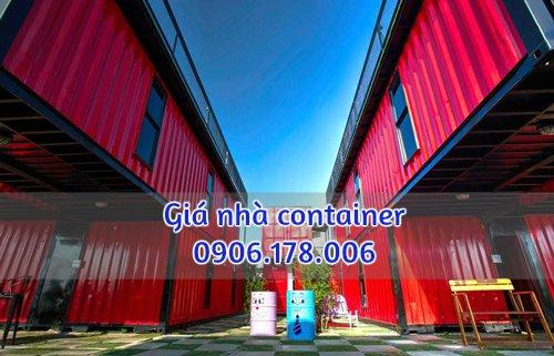 giá nhà container