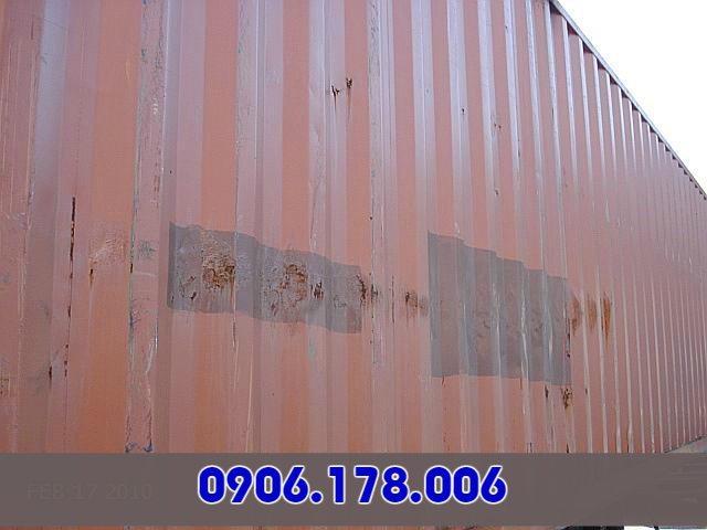 giá thanh lý container cũ