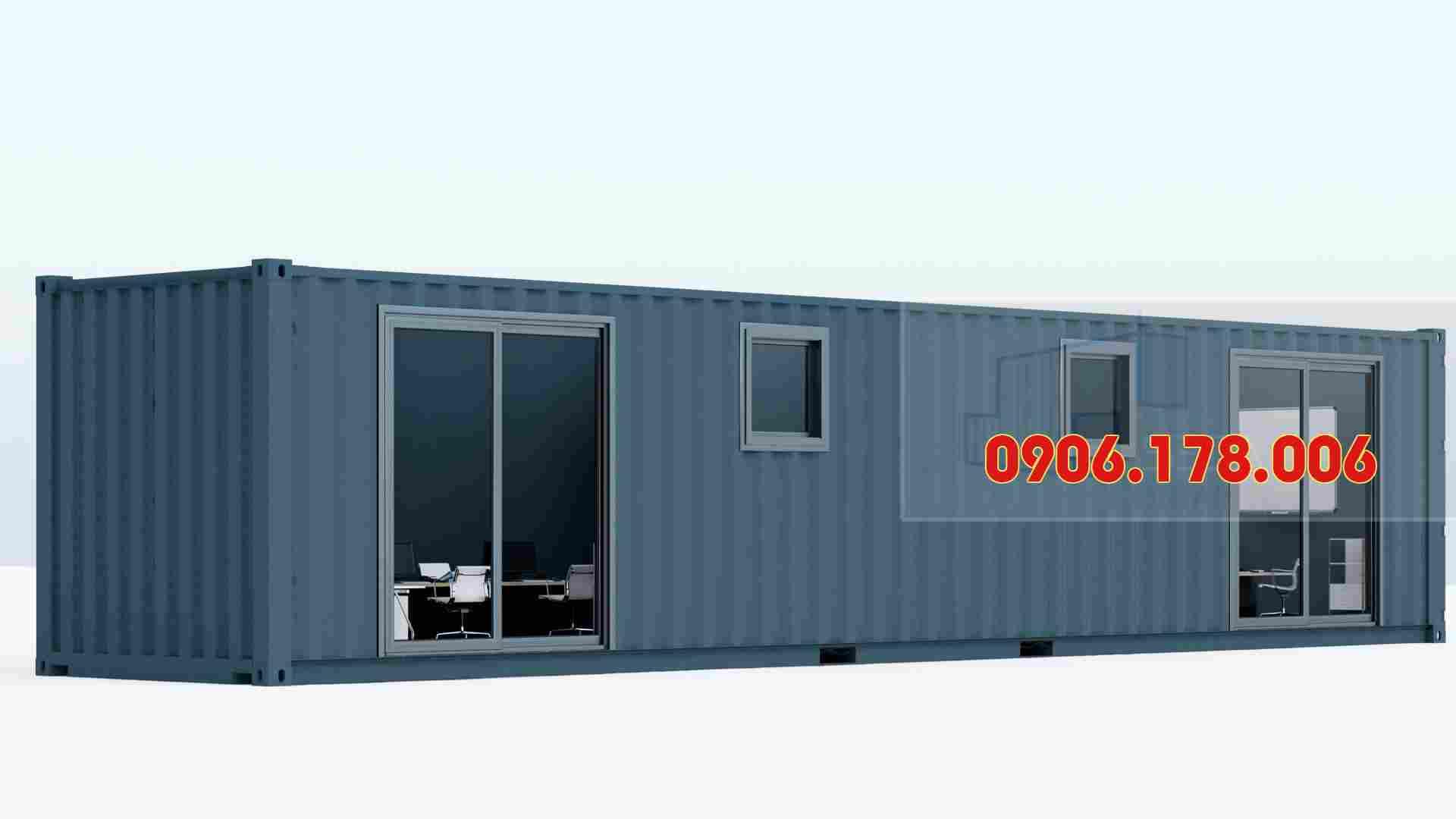 giá thuê container văn phòng