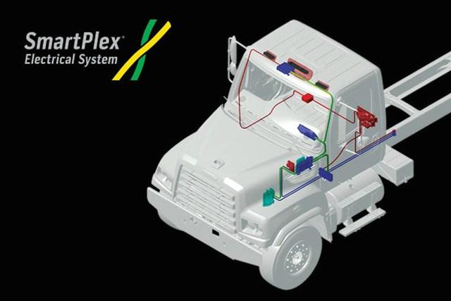 Hệ thống điện SmartPlex của xe đầu kéo freightliner