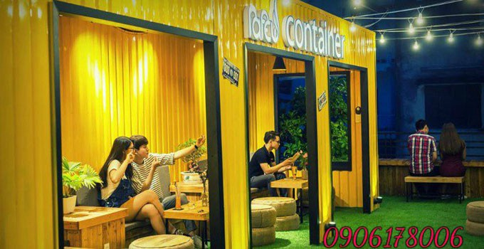Cafe container 20 feet