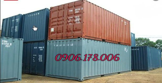 Container 20 feet cũ