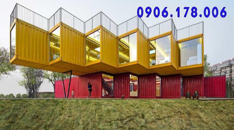 nhà container giá rẻ tiện nghi