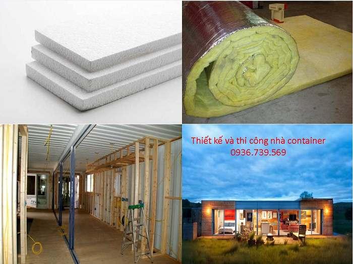 vật liệu ốp tường chống nóng nhà container giá rẻ