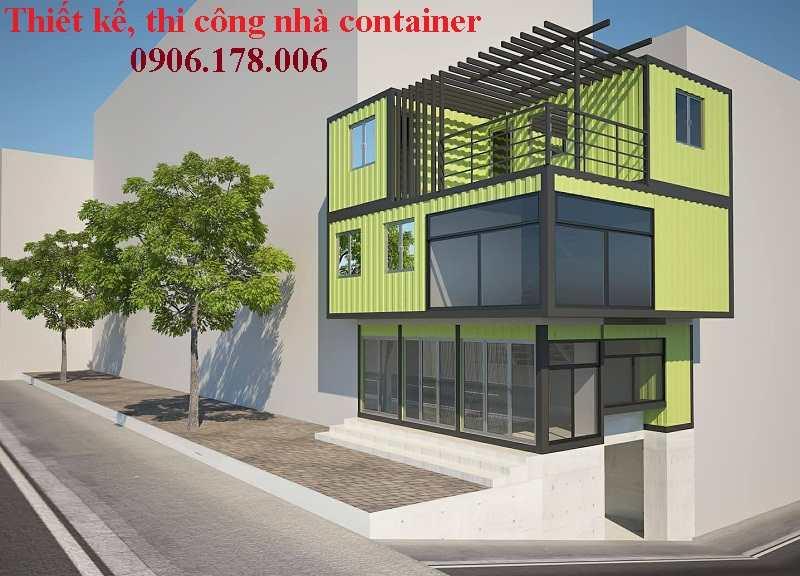nhà container kết hợp kinh doanh tai Cổ Lễ, Nam Định