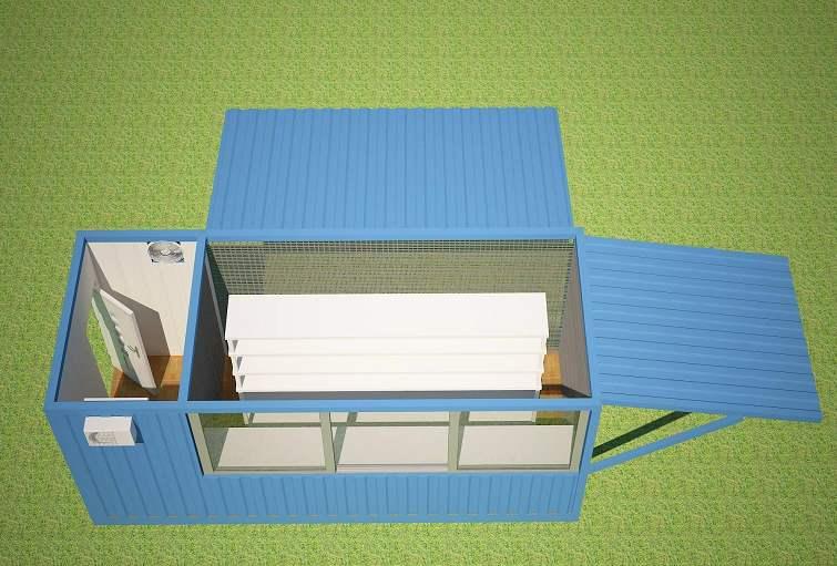 Thiết kế mô hình nhà nuôi trồng