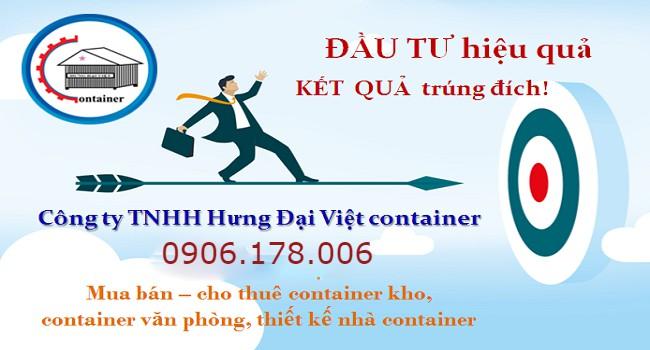 Công ty Hưng Đại Việt container